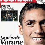 RAPHAEL VARANE,PROTAGONISTA DE LA REVISTA FRANCE FOOTBALL