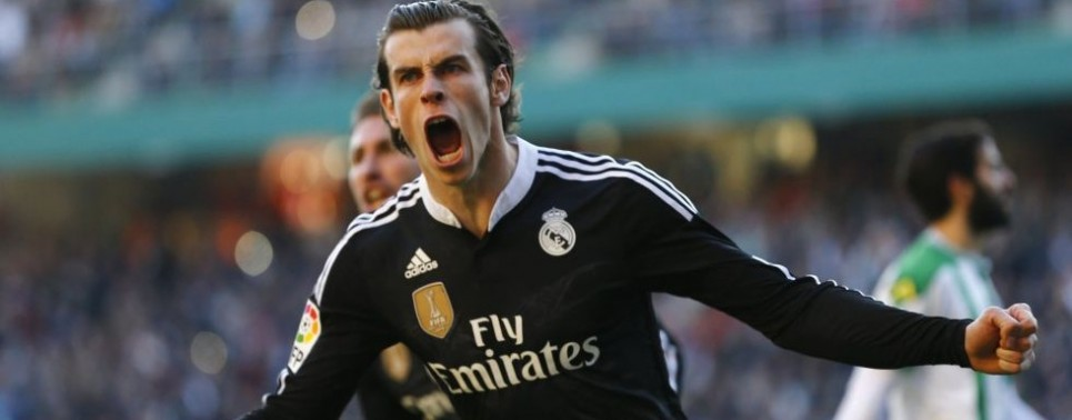 BALE REAL MADRID DE NEGRO