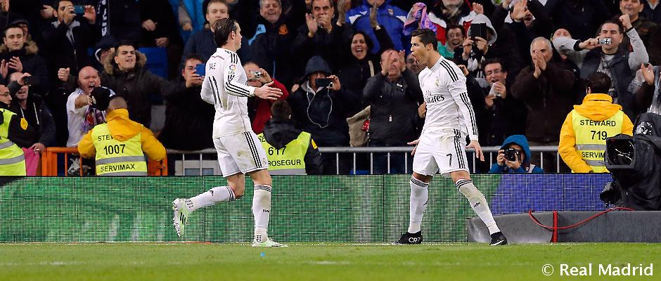CRISTIANO BALE REAL MADRID 2015