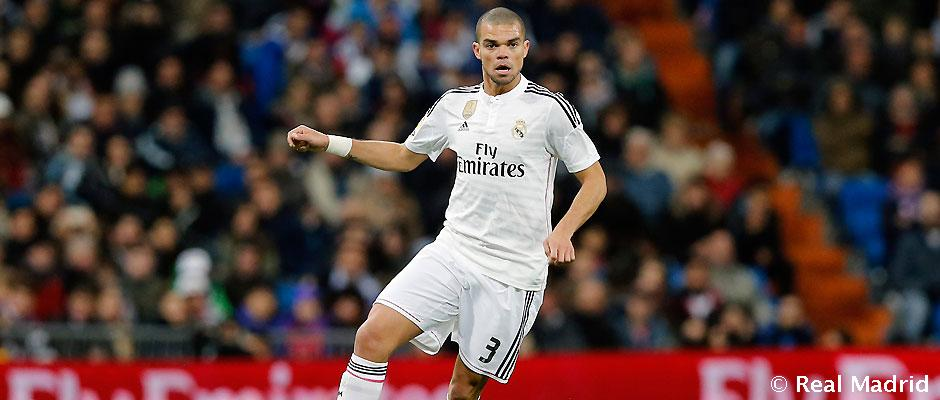 Pepe oficial REAL MADRID 2015