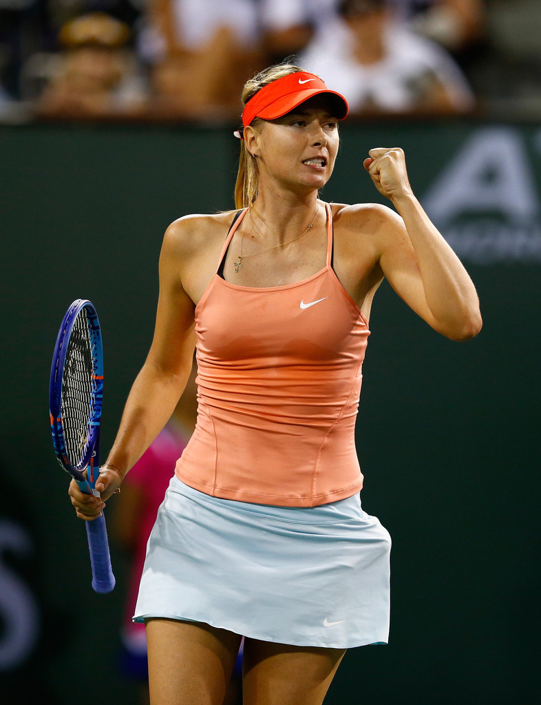 SHARAPOVA EN MADRID