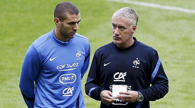 deschamps y benzema