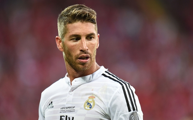File photo dated 12-08-2014 of Sergio Ramos. PRESS ASSOCIATION Photo. Issue date: Thursday June 25, 2015. Real Madrid defender Sergio Ramos wants to leave and has asked his club to listen to offers for him, according to the Spanish media. See PA story SOCCER Ramos. Photo credit should read Joe Giddens/PA Wire.