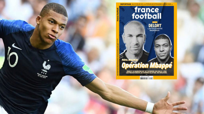 Mbappé France Football