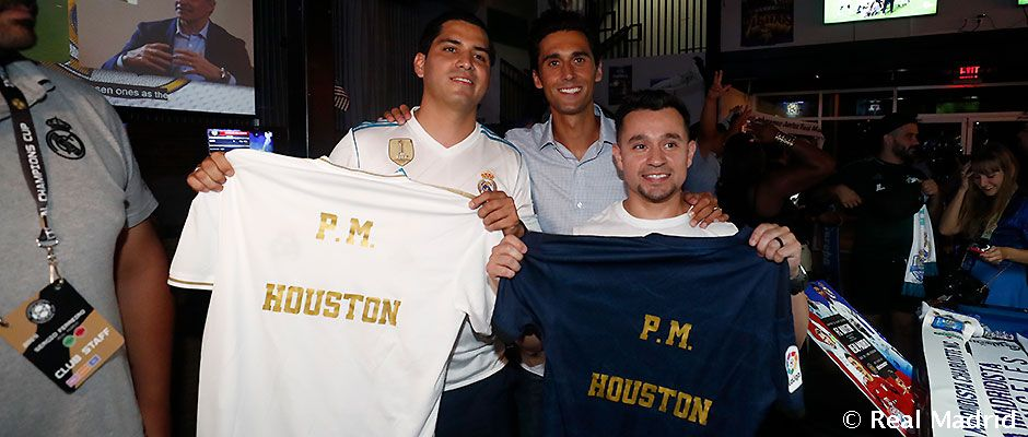 ARBELOA CON LA PEÑA HOUSTON