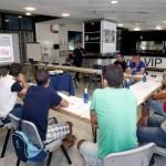 La Fundación Real Madrid impartió en el Bernabeu cursos de formación para entrenadores de la Comunidad de Madrid