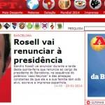 LA PRENSA MUNDIAL HABLA DE LA DIMISIÓN DE ROSELL