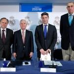 La Fundación Real Madrid y Parquesur ratifican su compromiso con la escuela de baloncesto de Leganés