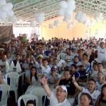 500 peñistas en Nicaragua se reunieron para ver el clásico, Madrid-Barça del 23M
