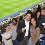 Los ganadores del sorteo mensual del área VIP disfrutaron del Real Madrid-Osasuna