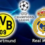 Descanso: Borussia 0 – 1 Real Madrid