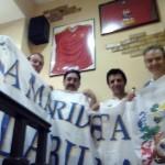 Juan y Carlos, directivos de la Peña VILLALBILLA (I parte): » Tengamos o no entradas, vamos a llenar un autobús para ir a Lisboa para ver al Madrid ganar la décima»