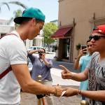 Cristiano Ronaldo llegó a Los Ángeles
