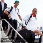 El Real Madrid ya está en España. Volverán a los entrenamientos, el martes por la tarde.