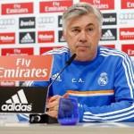 Ancelotti: » Anoeta es un campo difícil pero para ganar la liga hay que ganar este tipo de partidos»
