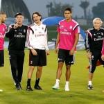 El Real Madrid se entrenó en Dubai