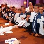 La plantilla madridista firmó autógrafos en el hotel Marrakech