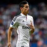 James ha marcado en las cuatro competiciones. Liga-Copa-Champions-Supercopa de España