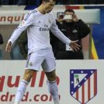 Cristiano no pudo continuar su racha goleada en derbis coperos