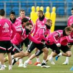 El Real Madrid completó su último entrenamiento antes de recibir a la Real Sociedad