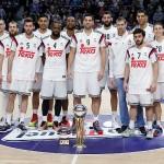 El LasoTeam, reciente bicampeón de Copa, ofreció el título copero 2015 al Palacio de los Deportes
