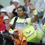 Rafa Nadal cae al 5to puesto de ATP