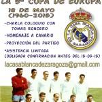 La Casa Blanca de Zaragoza celebra el lunes 18-M, los 55 años de la 5ª Copa de Europa