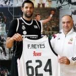 Felipe Reyes sumó 624 partidos e igualó a Laso
