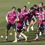 La plantilla apoya a Ancelotti