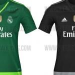 Se filtran las camisetas de portero del Real Madrid 2015-16