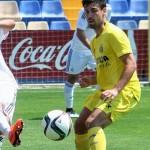 Un gol de Fran Pérez (0-1) deja al Juvenil A con pie y medio en semifinales