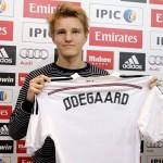 Odegaard volvió a jugar con el primer equipo