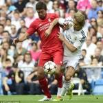 Michel Salgado: » Siempre es especial sentir el ambiente del Bernabéu»