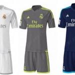 OFICIAL: » El Real Madrid presenta sus nuevas equipaciones para la 15-16″