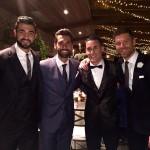 Arbeloa, Albiol y Xabi Alonso acudieron a la boda de Callejón