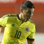 James estrenará BOTAS DE ORO ante Argentina