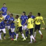 VIDEO: Bochornosa actuación de Neymar, expulsado tras el final del partido