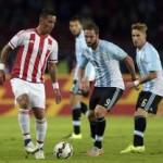 Argentina empata ante Paraguay (2-2) tras un primer tiempo excelente