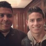 Ronaldo Nazario visitó a Colombia en la Copa América