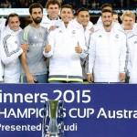 ¡¡¡EL REAL MADRID CAMPEÓN DE LA INTERNACIONAL CHAMPIONS CUP, SEDE AUSTRALIA!!!