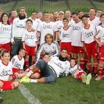 La plantilla del Real Madrid participó en un clinic de Audi
