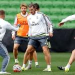 El Madrid entrenó por primera vez en Australia. Modric y Cristiano, se incorporaron al grupo