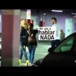 De Gea «cazado» a su llegada a Madrid