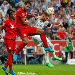 El Real Madrid cae contra el Bayern en la final de la Audi Cup