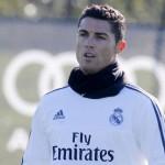Cristiano cenó en familia en la previa del choque ante el Sporting