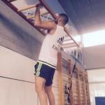 Benzema entrena duro para recuperarse