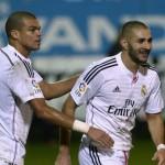 Benzema felicitó a Pepe por su renovación