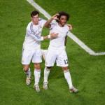 Marcelo y Bale fueron los protagonistas en un acto de ADIDAS