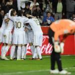 El Madrid no encaja un gol en El Molinón desde la 94-95