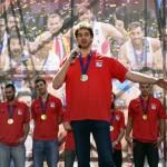 Gasol, en Callao: «Gracias por disfrutar de nuestro deporte»